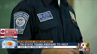 Tri-State teams prepare to help Hurricane Florence victims