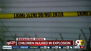 Two children injured in Oxford explosion
