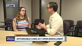 Affordable Care Act open enrollment begins today - Video