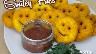 How to make smiley fries - Video