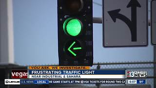 Limo driver sends video of long traffic light to NDOT - Video