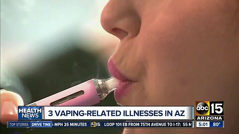 Officials: 3 cases of vaping-related illness reported in AZ