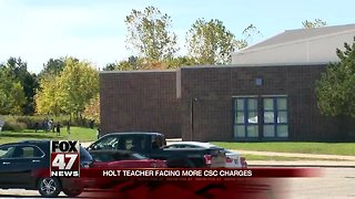 More CSC charges against Holt teacher after additional victim comes forward