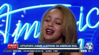 Littleton teenager Jurnee Weathers audition on American Idol