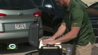Fans from out of state travel to Lambeau