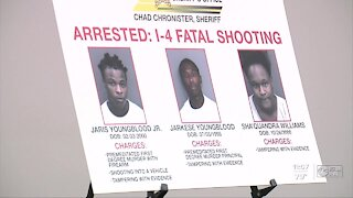 3 arrested in I-4 shooting that killed teen in Hillsborough County, Sheriff says