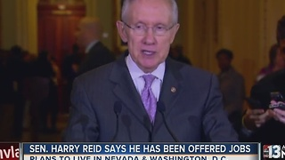 Retiring Sen. Reid to decide on next career in coming weeks - Video