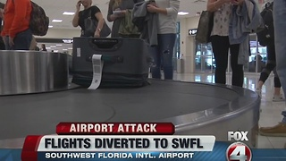 Fort Lauderdale Airport Shooting RSW Impact - Video