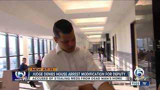 Former PBSO deputy will remain on house arrest - Video