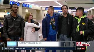 Family back in Omaha after Hurricane Maria - Video