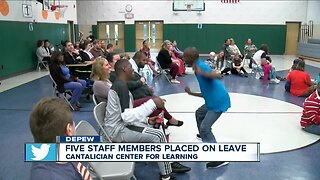 Five staff members placed on leave at local school