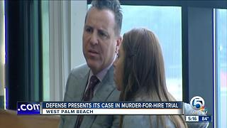 Defense presents its case in murder-for-hire trial - Video