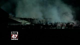 Electrical problem may have caused barn fire, killed cows - Video