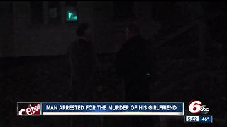 Man arrested in connection with death of his girlfriend - Video