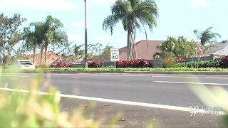 Neighbors worried about drivers speeding down County Line Road in Wesley Chapel