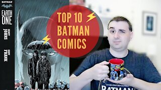 My Top 10 Favorite Batman Comics | Comics, Cartoons, and Coffee