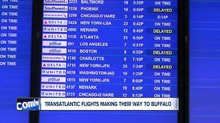 Push for Flights to Europe out of Buffalo - Video