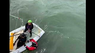 Coast Guard Rescues Stranded Sailors in Northern California