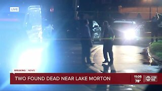 Double homicide investigation underway near Lake Morton, Lakeland police say