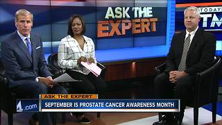 Ask the Expert: Prostate Cancer awareness month - Video