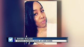 Woman gunned down at River Rouge home