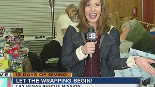 13 Days of Giving wraps up at the Las Vegas Rescue Mission - Video