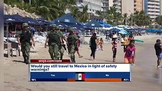 New travel warning for Americans in Mexico - Video