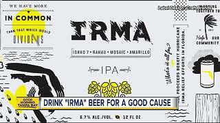 Local breweries team up and create 'IRMA' beer for hurricane relief - Video