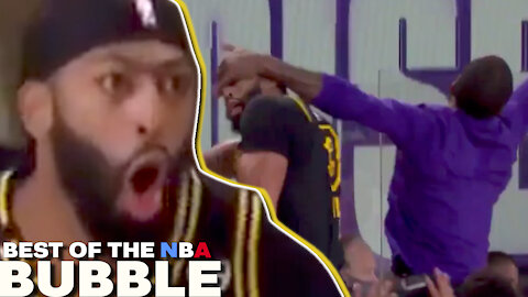 Air J.R. Smith, Bam Hits Trick Shots & LeBron Gets An Earful | Best Of The Bubble