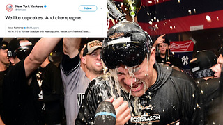 Yankees Eliminate Indians from ALDS, then BURY Them on Twitter - Video