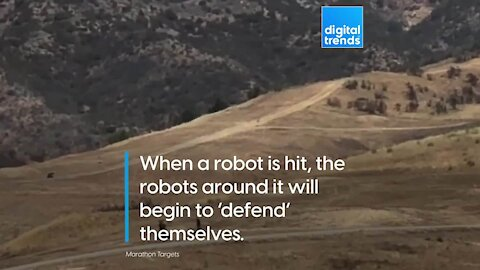 Smart Military Training Robots
