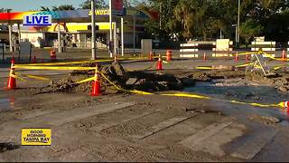 Cold weather contributed to area water main breaks - Video