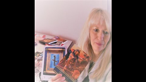 Tarot - Random Channeled Message - Mid April 2021 - The Tower Clarifies The Path of The Warrior