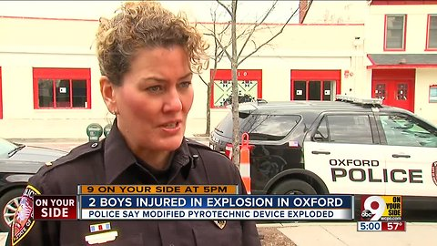 Police report describes gruesome injuries in Oxford explosion