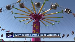 Carnival ride safety concerns arise at fair - Video