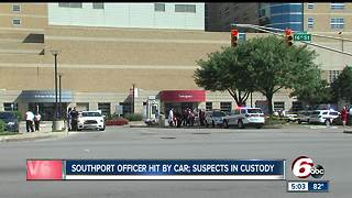CALL 6: Off-duty Southport officer fires shots at car after being struck at Methodist Hospital - Video