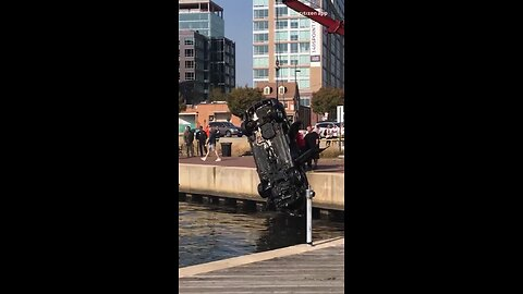 Woman dies after driving car into water in Fells Point early Sunday