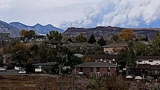 Smoke coming from Boulder Co