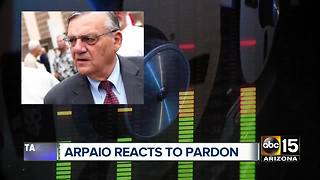 Arpaio speaks to ABC15 about pardon from President Trump - Video
