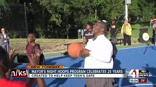 Mayor's Night Hoops program celebrates 25 years - Video