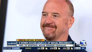 Five women accuse Louis C.K. of sexual misconduct - Video