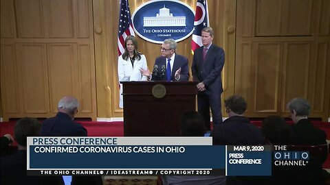 Ohio's 3 coronavirus cases are in Cuyahoga County, Gov. DeWine confirms