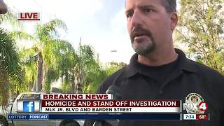 Fort Myers stand-off homicide: 8am update from police - Video