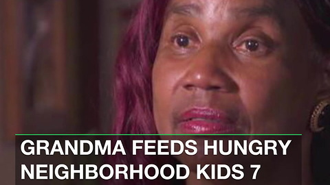 Grandma Feeds Hungry Neighborhood Kids 7 Days a Week Because of Promise She Made God