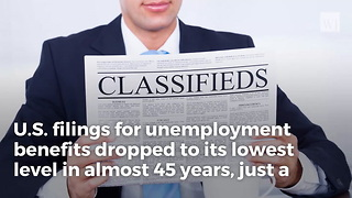 2 Days Short Of Trump's 1-year Anniversary, Us Unemployment Hits Number Not Seen Since 1973