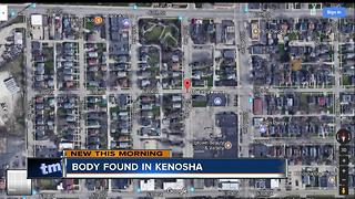Body found in Kenosha - Video