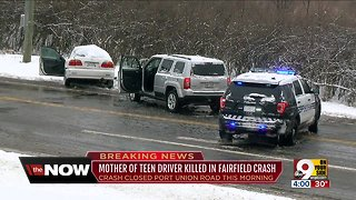 Mother of teen driver killed in Fairfield crash