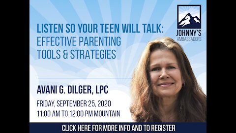 """Effective Parenting Tools & Strategies from """"Motivational Interviewing"""" and """"Natural Highs"""""""