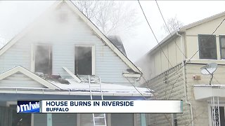 Buffalo firefighters don't let snow slow them down