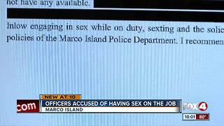 Police officers resign after sexting scandal